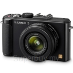 Panasonic Lumix LX7 Compact Camera FOC 8GB SD card + Case