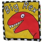 Lala Baby Soft Book Big Rex