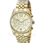 Michael Kors MK5556 Women's Yellow Gold Stainless Steel Chronograph Watch