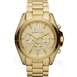 Michael Kors MK5605 Women's Yellow Gold Stainless Steel Chronograph Watch
