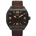 Fossil Men's Roland Dark Brown Leather Watch - JR1362