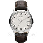Fossil Men's Ansel Brown Leather Watch - FS4737