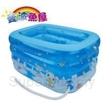 MAMBOBABY GIANT INFLATABLE SWIMMING POOL SET (with electic pump and float) NEW VERSION