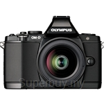 Olympus OM-D E-M5 Micro Four Thirds Digital Camera with 12-50mm