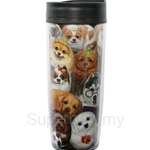 HCF Travel Mug Henry Dogs Party Time - HTM2-16A