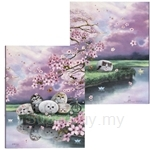 HCF A4 Ring Binder Cherry Blossom - SRB1-48