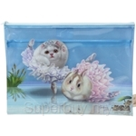 HCF Multifunction Zipper Pouch Water-resistant Swan Lake - HZP1-60