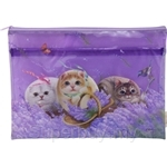 HCF Multifunction Zipper Pouch Water-resistant Lavender In The Wind - HZP1-61
