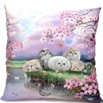 HCF 22 inch Square Pillow Cherry Blossom - HSP1-48