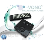 VONO+2 Full HD Media Player 1080p HDMI RMVB MKV MP4 W Remoted - MR68