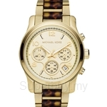 Michael Kors MK5659 Women's Two-tone Tortoise Acetate Chronograph Watch