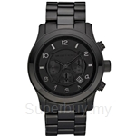 Michael Kors MK8157 Men's Blackout Chronograph Watch