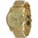 Michael Kors MK5660 Women's Horn Acetate and Yellow Gold Plated Chronograph Watch