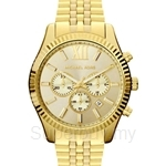 Michael Kors MK8281 Men's Yellow Gold Plated Chronograph Watch