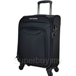 Hush Puppies 18.5 Inch Nylon Soft Trolley Case with TSA Combination Lock - HP02-693092