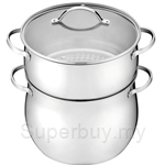 Thermos 7.50L Stock Pot with Steamer - KS-012
