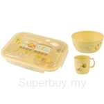 BabyCorn Kids Bowl (Small) + BabyCorn Baby Mug + BabyCorn Meal Plate with Lock Lid