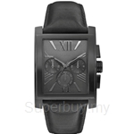 Guess W0010G2 Gents Dress Chronograph Blackout Watch