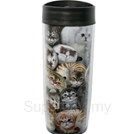 HCF Travel Mug Henry Cats - HTM2-8A