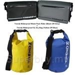 Trendz Waterproof Waist Pack Rider + Waterproof 5L Dry Bag