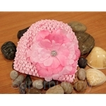 Bumble Bee Crochet Hat Pink Headwear - HB0053