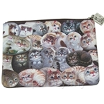 HCF Cotton Pouch Henry Cats - SPO4-8A