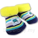 Bumble Bee Terry Socks Girl Elephant Footwear - S0067