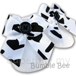 Bumble Bee Socks Girls Snowhite Chenille Footwear - S0073