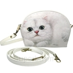 HCF Shaped Pouch with Long Strap Olivia - FSP1-CA015