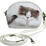 HCF Shaped Pouch with Long Strap Melody - FSP1-CA024
