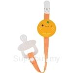 Naforye Baby Pacifier Clip-Tangerine - 99312