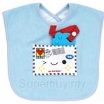 Naforye Multi-Function Baby Bib Love Letter - 99457
