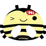Naforye Keep-Roundness Infant Pillow Bee - 99554