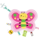 Naforye Labels Cuddle Blanket Butterfly - 99552