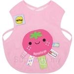 Naforye Funny Label Baby Bib Vest Strawberry - 99583