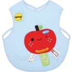 Naforye Funny Label Baby Bib Vest Apple - 99585