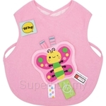 Naforye Funny Label Baby Bib Vest Butterfly - 99588
