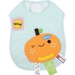 Naforye Funny Label Baby Bib Longer Orange - 99578