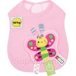 Naforye Funny Label Baby Bib Longer Butterfly - 99582