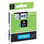DYMO Blue On Transparent D1 Tapes-Professional LabelManager - SMOP45011