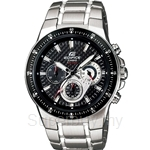 Casio Edifice Chronograph Black Carbon Fiber Dial Watch - EF-552D-1A