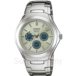 Casio Classic Analog Multifunction Watch - MTP-1247D-9AV