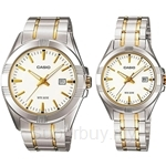 Casio Standard Analog Couple Watch Gent-Lady - MTP-LTP-1308SG-7A