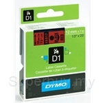 DYMO Black on Red D1 Tapes-Professional LabelManager - SMOP45017