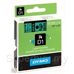 DYMO Black on Green D1 Tapes-Professional LabelManager - SMOP45019