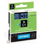 DYMO Black on Blue D1 Tapes-Professional LabelManager - SMOP45016