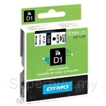 DYMO Black on White D1 Tapes-Professional LabelManager - SMOP45013