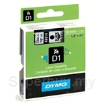 DYMO Black on Transparent D1 Tapes-Professional LabelManager - SMOP45010