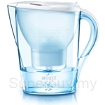 BRITA 2.4L Water Filter Jug - Marella Cool White