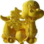 Gold Gift 24K Gold Plated Prosperity Golden Snake - 4205